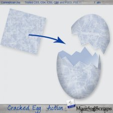 Cracked Egg Action by Mandog Scraps