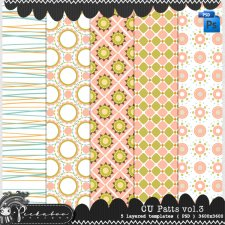 Pattern Templates vol 03 by Peek a Boo Designs