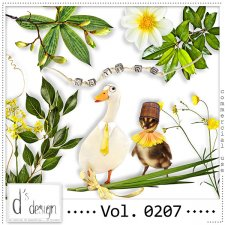 Vol. 0207 - Nature Mix by Doudou's Design