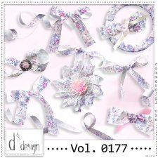 Vol. 0177 Floral Ribbons Mix by Doudou Design