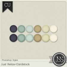 Just Relax Cardstock PS Styles by Just So Scrappy