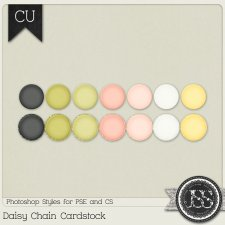 Daisy Chain Cardstock PS Styles by Just So Scrappy