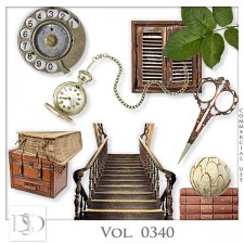 Vol. 0340 Vintage Mix by D's Design