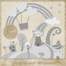 Magical Land Templates by Josy Carson