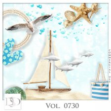 Vol. 0730 Summer Sea Mix by D's Design