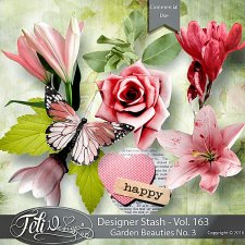 Designer Stash Vol 163 - Garden Beauties No. 3 - by Feli Designs