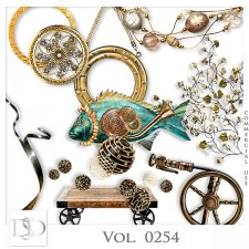 Vol. 0253 to 0256 Steampunk Sea Mix by D's Design