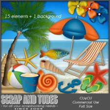 Grab Bag Ocean 3 (CU4CU) by Scrap and Tubes