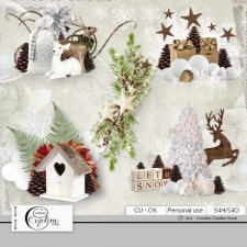 Christmas embellishments - CU 5 by Cajoline-Scrap