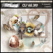 CU vol 247 Mix pack by Florju Designs