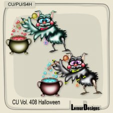 CU Vol 408 Halloween Bat by Lemur Designs