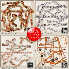 Fall Ribbon 1-4 Bundle by Kathryn Estry