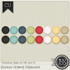 Doctors Orders Chipboard PS Styles by Just So Scrappy