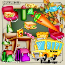 CU Vol 537 School Stuff by Lemur Designs