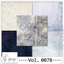 Vol. 0078 Grunge Vintage papers by Doudou's Design