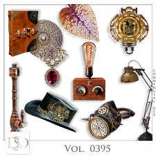 Vol. 0395 Steampunk Mix by D's Design