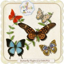 Butterfly Flight EXCLUSIVE by PapierStudio Silke
