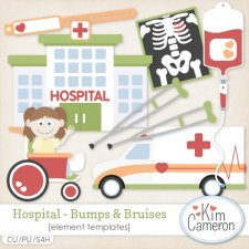 Hospital Bumps & Bruises Templates by Kim Cameron