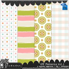 Pattern Templates vol 1 by Peek a Boo Designs