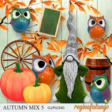 AUTUMN MIX 5 by Reginafalango