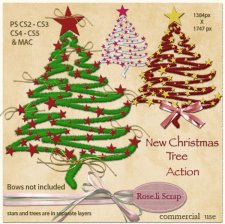 Action - New Christmas Tree I by Rose.li