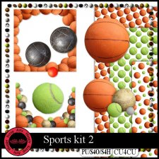 EXCLUSIVE Sport kit 1 CU4CU by Happy Scrap Art