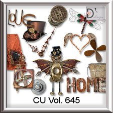 Vol. 645 Steampunk Mix by Doudou Design