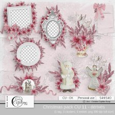 Christmas pack CU 11 - derivative by Cajoline-Scrap