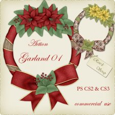 Action - Christmas Garland I by Rose.li