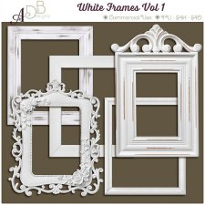 White Frames Vol 1 by ADB Designs