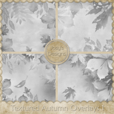 Textured Autumn Overlays by Josy