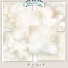 Cu set 169 Papers stars Chrismas by MLDesign