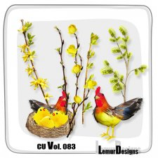 CU Vol. 083 Easter Mix by Lemur Designs