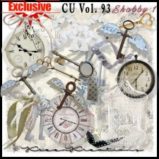 EXCLUSIVE Shabby Element Mix 1 by Kreen Kreations