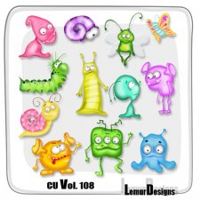 CU Vol 108 Monster school by Lemur Designs