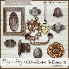 CU vol 59 Mix Elements by Florju Designs
