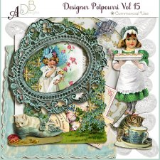 Designer Elements Potpourri Vol 15 by ADB Designs