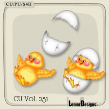 CU Vol 251 Easter Elements Pack 7 by Lemur Designs