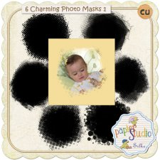 Charming Photo Masks Nr. 01 EXCLUSIVE by PapierStudio Silke