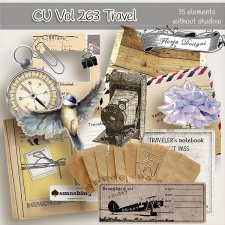 CU Vol 263 Travel Element by Florju Designs