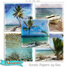 Scenic Papers 29 Sea by Kastagnette