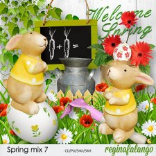 Spring mix 7 by reginafalango