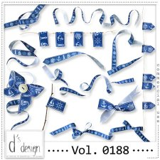 Vol. 0188 - Nautical Ribbons Mix by Doudou's Design