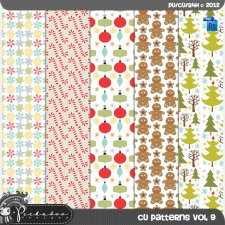 Pattern Templates vol 9 by Peek a Boo Designs