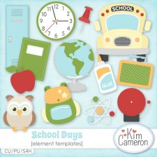 School Days Templates by Kim Cameron