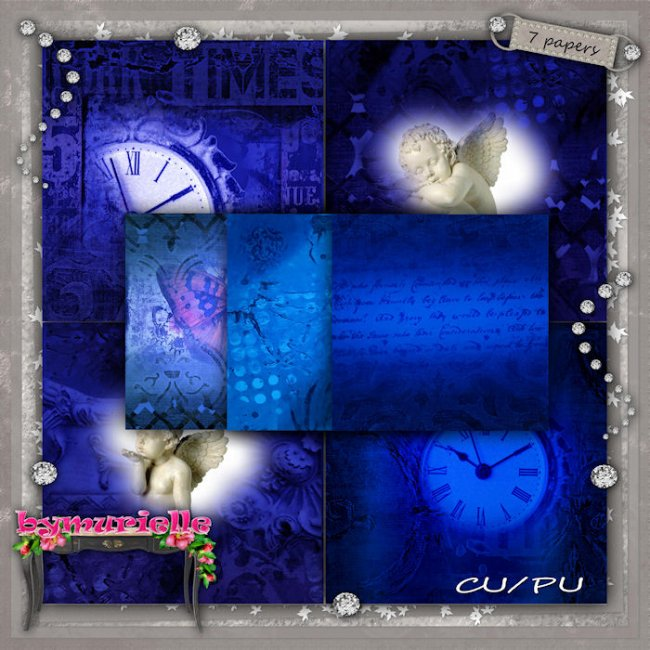 PAPERS Vol 107 Blue Night EXCLUSIVE byMurielle