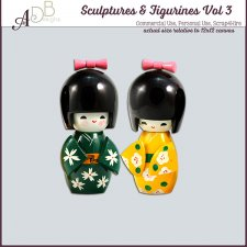 Sculptures & Figurines Elements Vol. 03 by ADB Designs