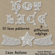 Lace Actions by Karen Stimson