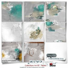 Collections Vol 25 - Papers by Eirene Designs