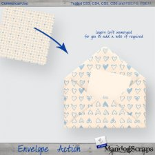 Envelope Action by Mandog Scraps